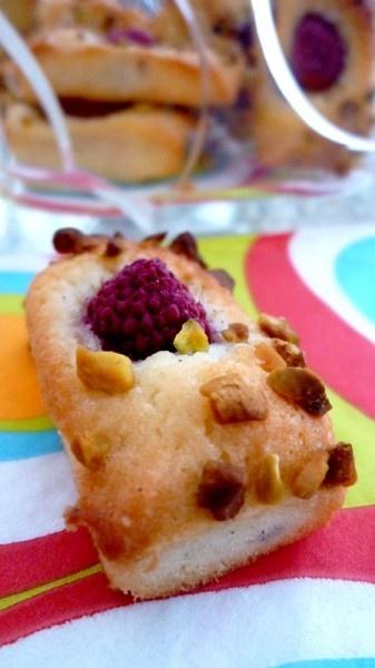 Little raspberry financier cake   My recipe   Pinterest