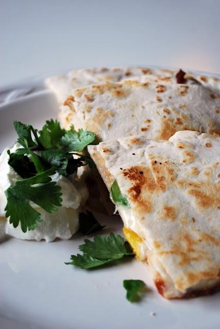 bbq chicken pineapple quesadillas | Main Dish Recipes | Pinterest