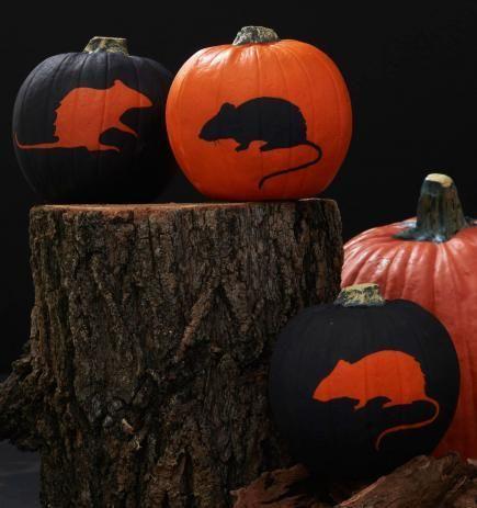 free printable woodland pumpkin stencils