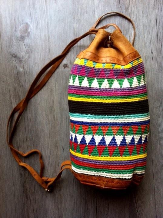 Bucket Bag Crochet Pattern : duffel bag bags bags bags Pinterest