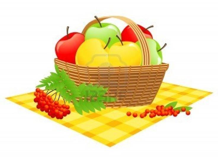 Yahoo Image Basket of Apples | Apple Clip Art | Pinterest