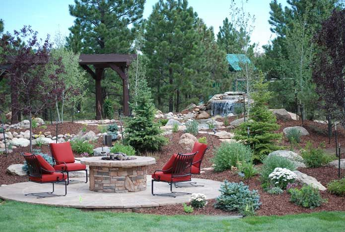Backyard Landscaping Colorado Springs : Pin by tanya allee on home decor
