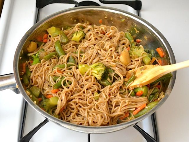 Teriyaki Noodle Bowls - Budget Bytes
