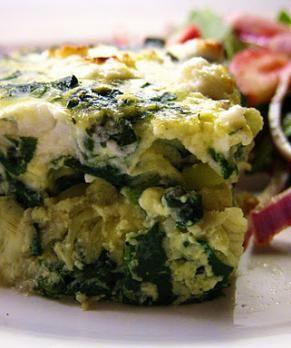 Spinach & Artichoke Frittata | Frittata/Stratta | Pinterest