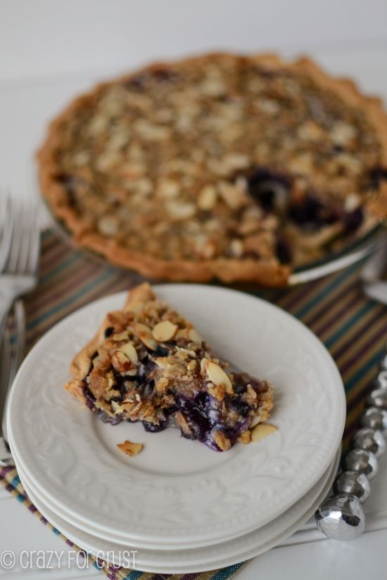 Blueberry Crumble Pie | Recipe
