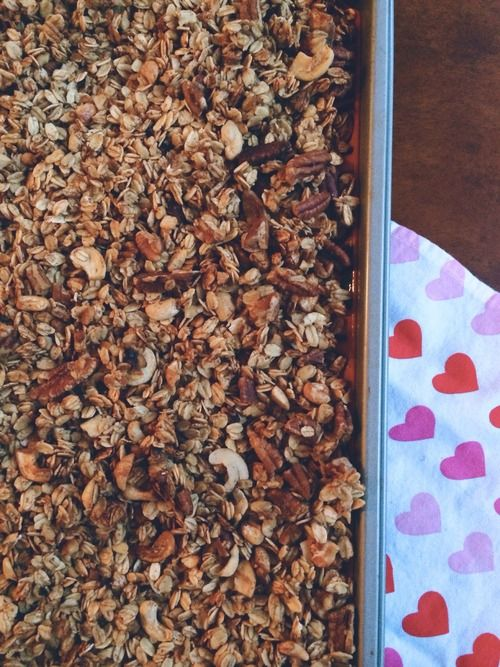 Roasted Banana-Nut Granola Recipes — Dishmaps