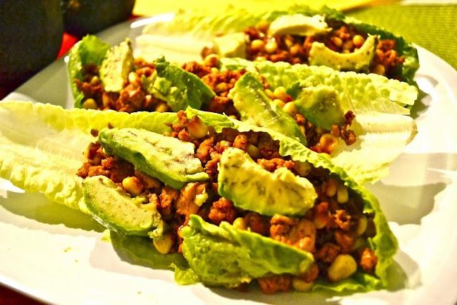 Vegan Lettuce Wraps | Vegan/Vegetarian | Pinterest
