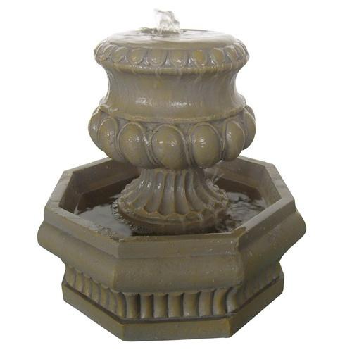 tabletop urn fountain 63 lowe39s garden patio dreams