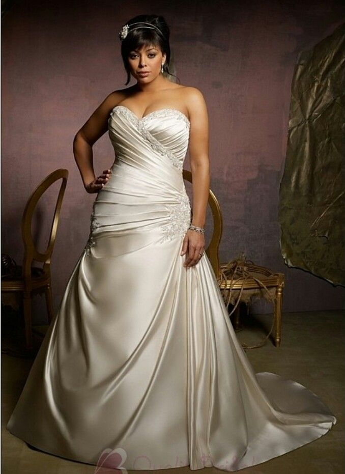 Plus size wedding dress ideas wedding ideas pinterest