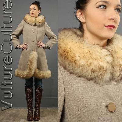 Shearling and fur coats