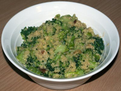 "Cheesy"" Broccoli Quinoa | Foodz | Pinterest"