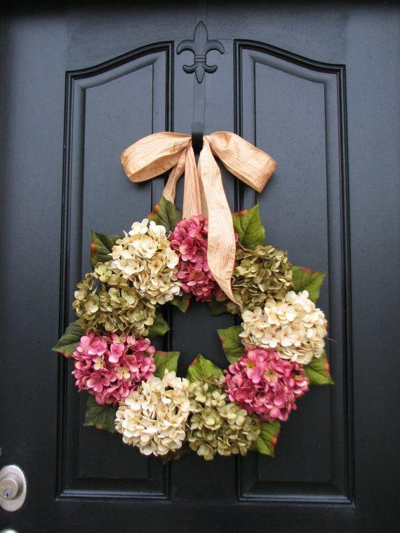 Spring Wreaths Hydrangea Wreath