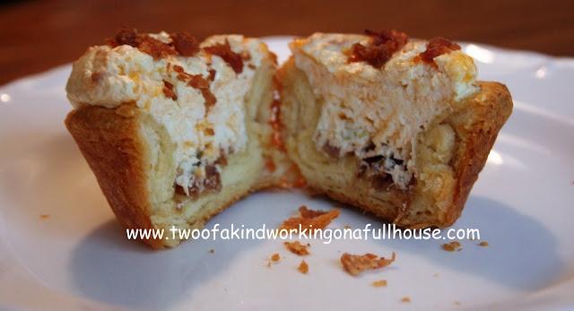 Bacon Quiche Biscuit Cups | breakfast | Pinterest
