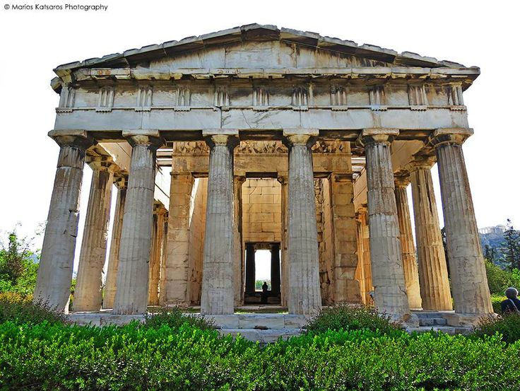 Temple of Hephaestus, Athens  Travel Greece  Pinterest