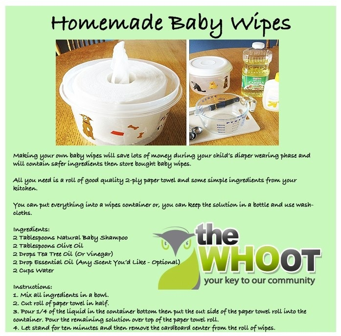 Make your own baby wipes save and know what ingredients you re