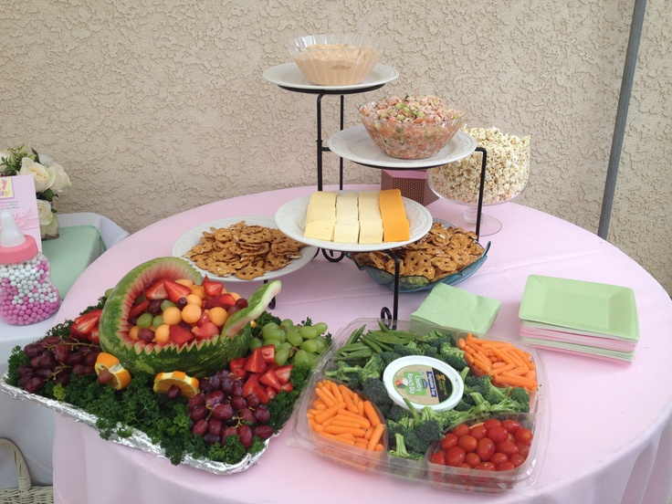 appetizers baby shower pinterest