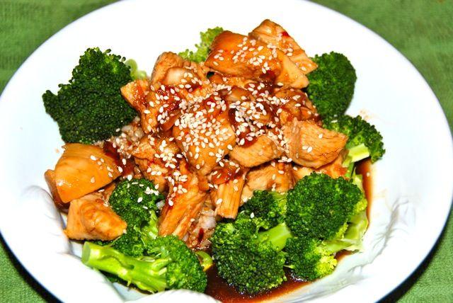 Crock Pot Honey Sesame Chicken: An easy crock pot meal!