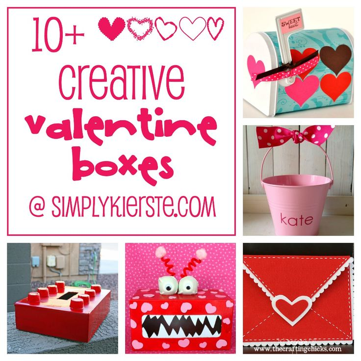{10+ fun & creative valentine boxes}