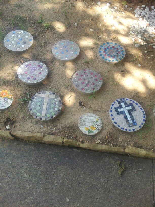 Diy Stepping Stones Diy Pinterest