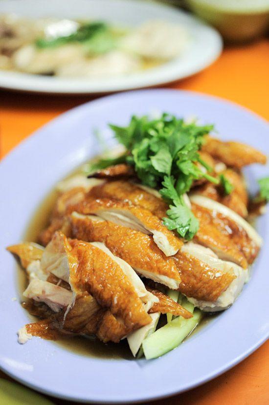 hainanese chicken rice | Foodie | Pinterest