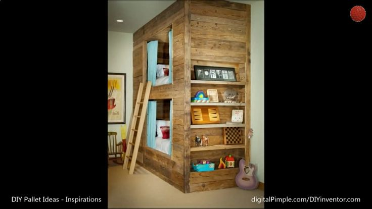 Pallet bunk bed :) | DIY | Pinterest
