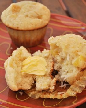 Pineapple Muffins | Recipes - cakes & muffins | Pinterest