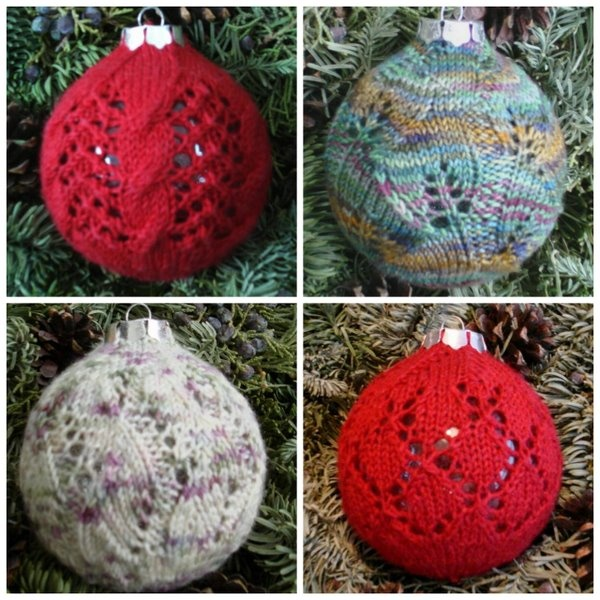 Kalamazoo Knits Deck the Balls Lace Christmas Ornament Knitting Patte?