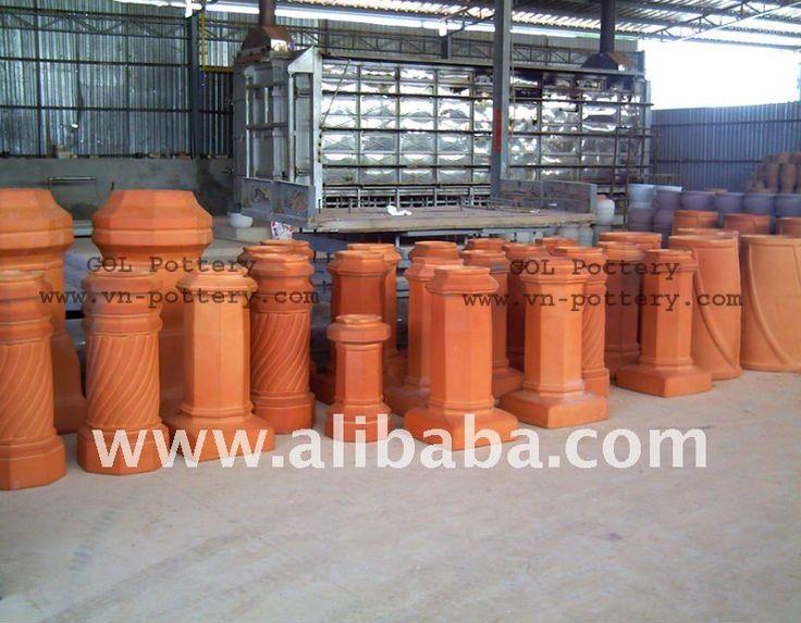 Pin camino a legna mod eboli aperto on pinterest - Mitre cheminee terre cuite ...
