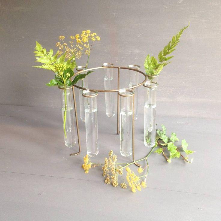 Test tube ring vase for Test tube vase