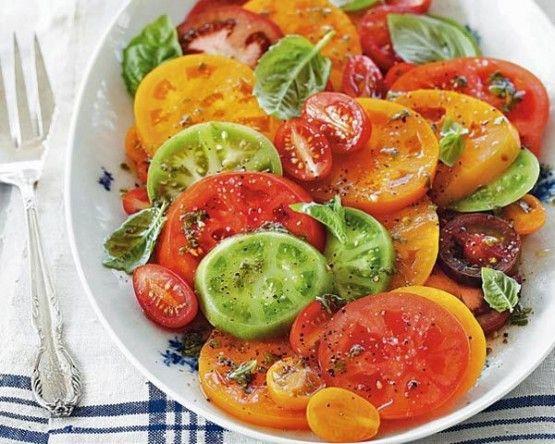 Heirloom Tomato Salad | Salad | Pinterest