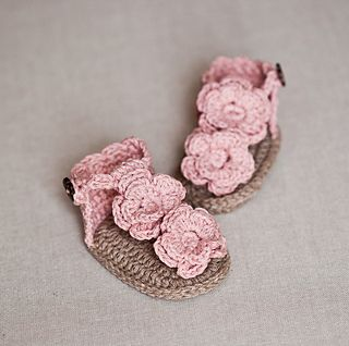 Free Crochet Sandal and Flip Flop Patterns