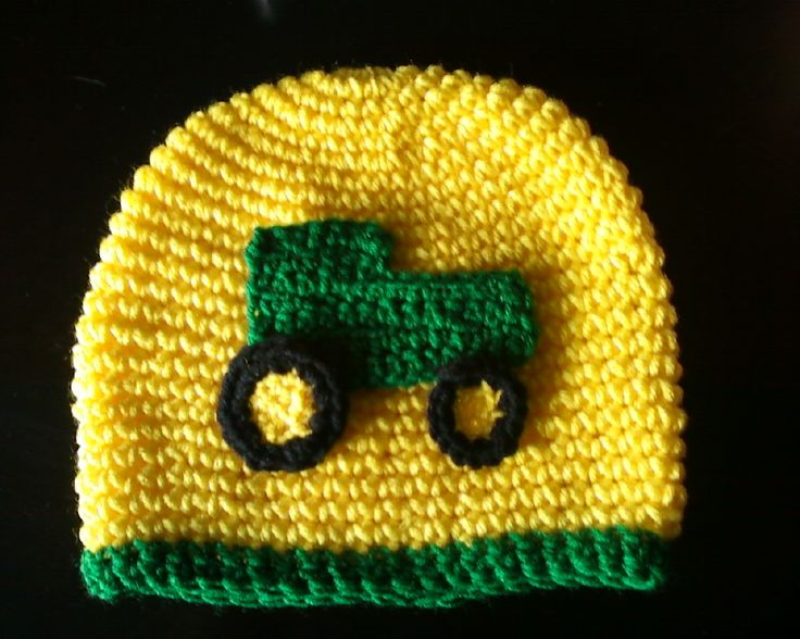 John Deere Tractor Crochet Patterns myideasbedroom.com