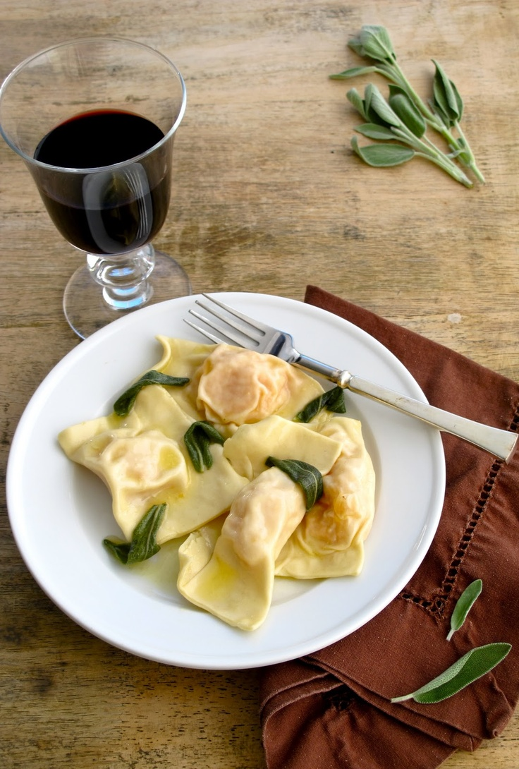 Butternut Squash Ravioli with Sage Browned Butter | Fall Entertaining ...