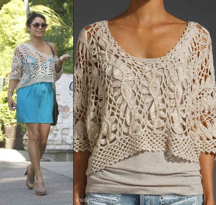 Вязание на вилке пуловер 830