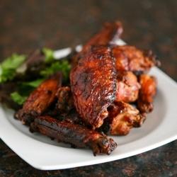 Crispy Asian wings | Food | Pinterest