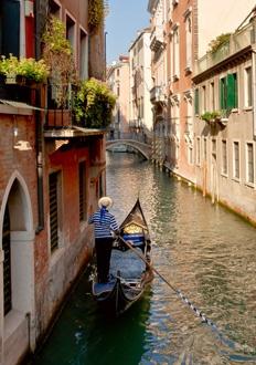 gondel in Venice
