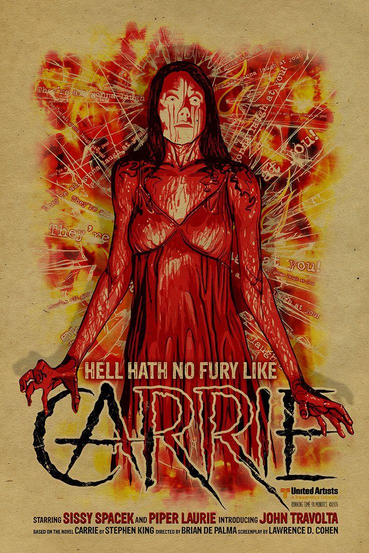 Sissy Spacek Carrie poster. 12x18. Kraft paper. Knoxville ...