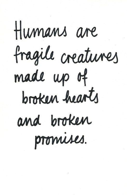 Fragile....