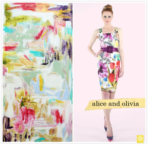 Fashion inspired by art: tosa