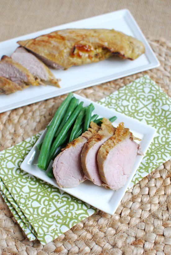 ... grilling. Honey Mustard Pork Tenderloin recipe from @lclivingston #
