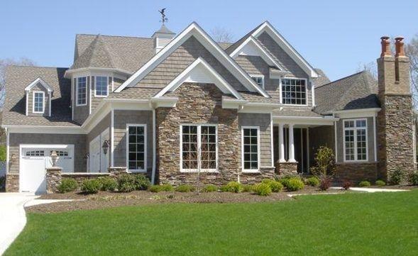 Beautiful exterior.  Home Exteriors  Pinterest