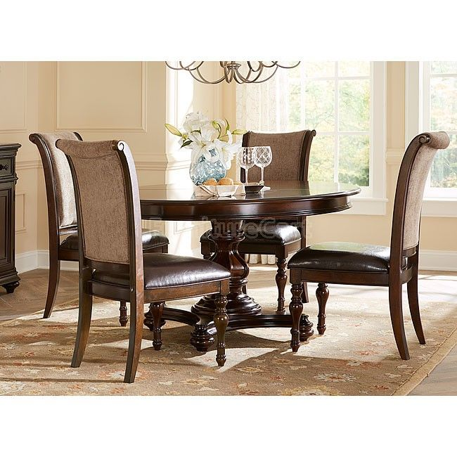 kingston plantation oval dining room set home decor east west furniture vancouver 9 piece 76x40 oval dining