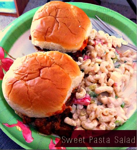 Delicious Sweet Summer Pasta Salad With Dreamfields!!! #Dreamfields