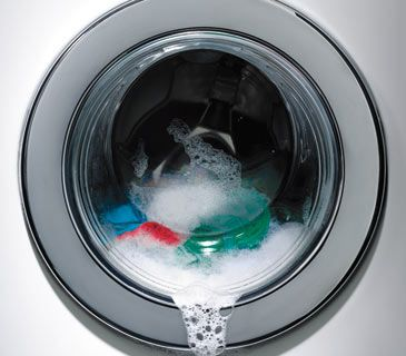 what does suds on a washing machine