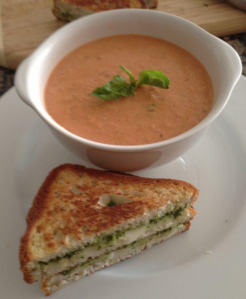 Creamy Tomato Cashew Soup | Cooking | Pinterest