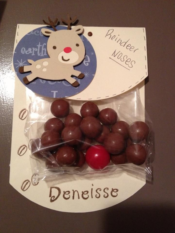 Reindeer noses - thank you for secretaries.