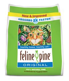 Pellet cat litter - Feline Pine, Good Mews or untreated wood stove pellets