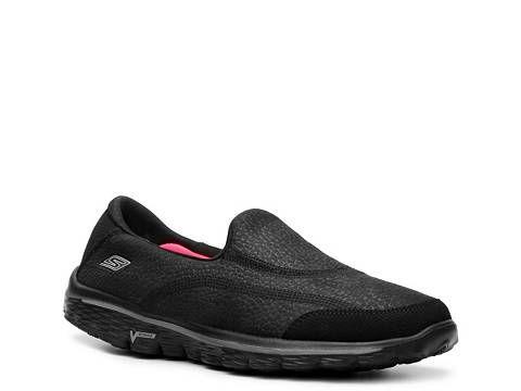 Skechers GOwalk 2 Linear Slip-On Walking Shoe - Womens | DSW