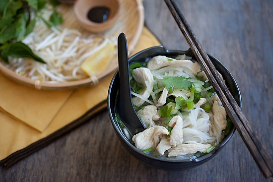 Pho Ga (Vietnamese Chicken Noodle Soup) - an Asian chicken noodle soup ...