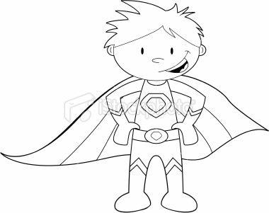 super boy coloring pages - photo#22
